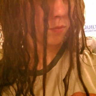 Date: 5-14-13.Right out of the shower, this is how they are looking without staring too hard. I know I need to get a picture of my face all purdified. XD