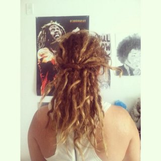 Wow what a joruney so far! My oldest dreads are 9 months and going greeat. I became a full dreadhead 6 months ago. I always hear bad things about them but i still keep my babies. I dont use anything in them and they make me so happy. I am truly glad i went down this path.