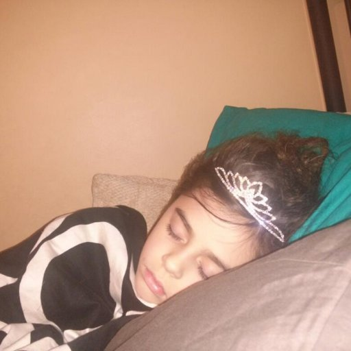 You are never too old to sleep in your tiara