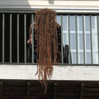 drying my 23 year old natural dreadlocks