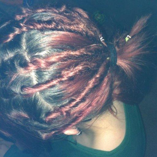 My first few dreads