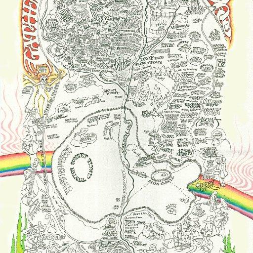 montana rainbow gathering map