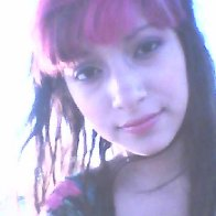 pink bangs (: