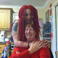 Nana's only dreadlocked grandchild