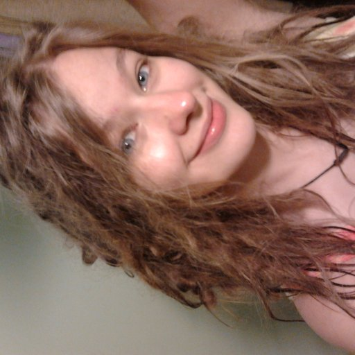 Fresh out of the shower :)