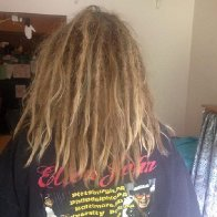 Back of my hair!