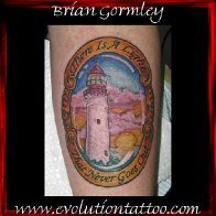 Cape May Lighthouse Tattoo