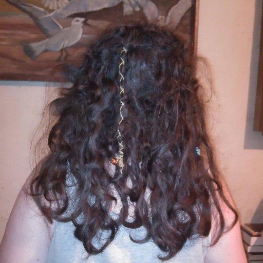 Back of my head, 18 weeks