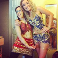 belly dancing rave night