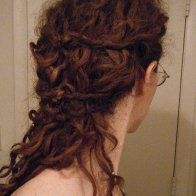 Three knot half-updo 8-16-2013