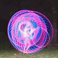 I hula hoop.
