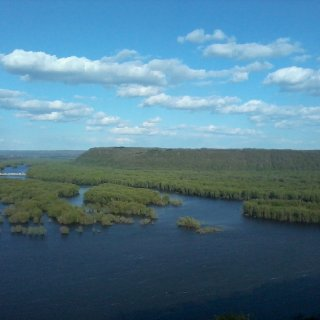 beautiful Mississippi river pic tooken in Iowa