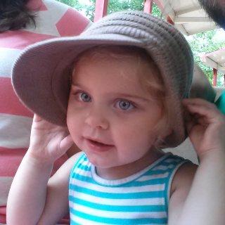 my baby girl Summer Rayne Jordan only 2 weeks younger than my locks :)