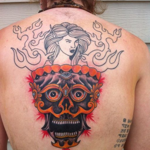 Progress on my back piece.