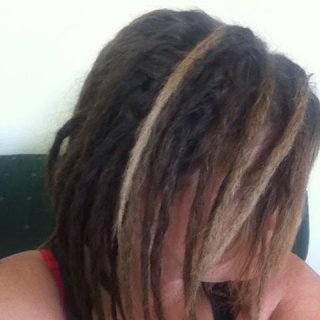 I just finished my dreadlocks today.. I used the rip and twist method...