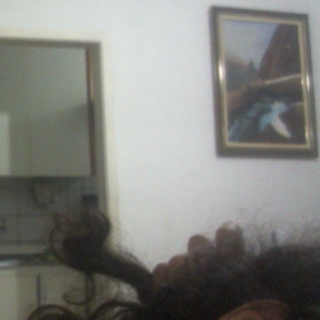 these are my 3 fattiest dreads... i don't like dreads like this, that's why i recurred to scissors to separate all of the back of my head...  these 3 were already congos, so i will keep them... but i'll not let my dreads congo again.
