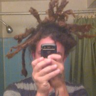 my dreads bout a year ago