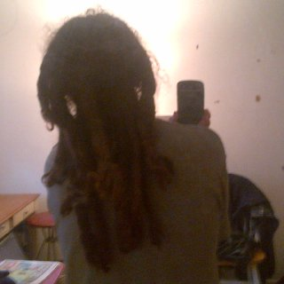 Best pic I can get to show length . Can never seem to get a good pic of the back .