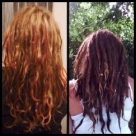 2 years dreads