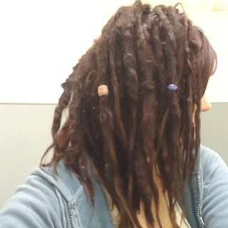 Natural/neglect dreads at 15 months I have dyed them a few times tho lol
