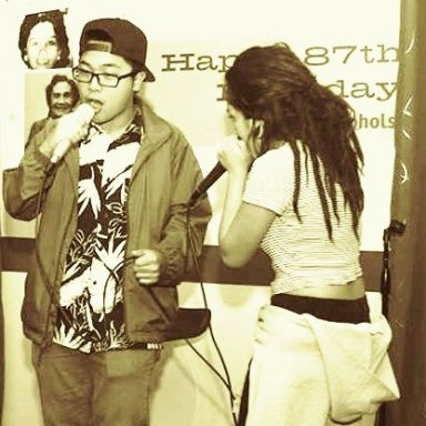 beatboxing for my cousin :) !!
