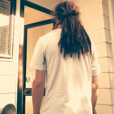 Dreads from the back