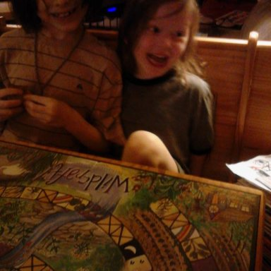 Board games with my boys <3