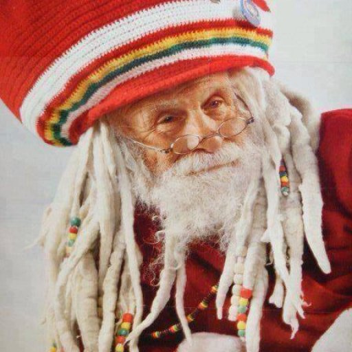 dreadlocks santa
