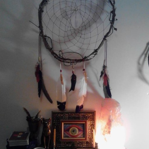 My first handmade dream catcher