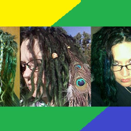 my rainbow hair5 rainbow stripes2
