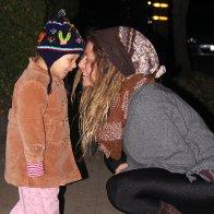 Hootenanny night with mini-me