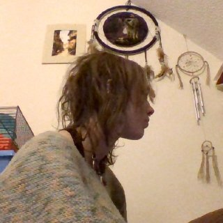 Thought Id post some side pics as most of the knotting is happening at the back and right side of my head