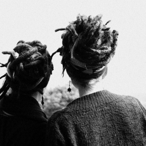 dreads from behind