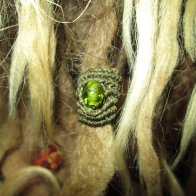 stone dread bead wrap sleeve from my online store