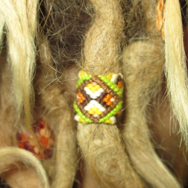 designed dread bead wraps sleeve from my online store