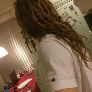 My neglect dreads around 13 months