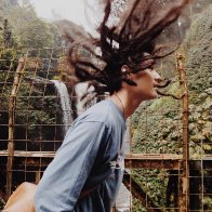 Dreads and waterfalls