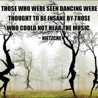 Those who were seen dancing