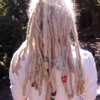 White dreads!