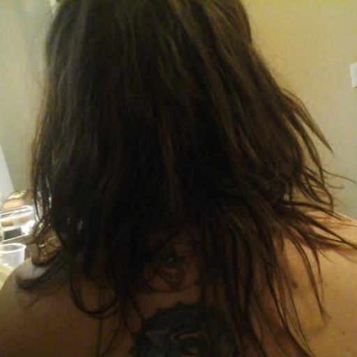 dreads day 4, back