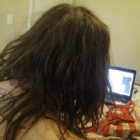 dreads day 4, back 2