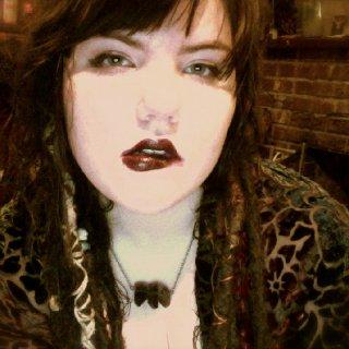 feelin sassy in wine colored lipstick