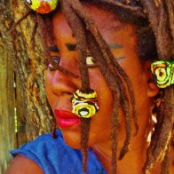 Fabric Dreadlock Beads