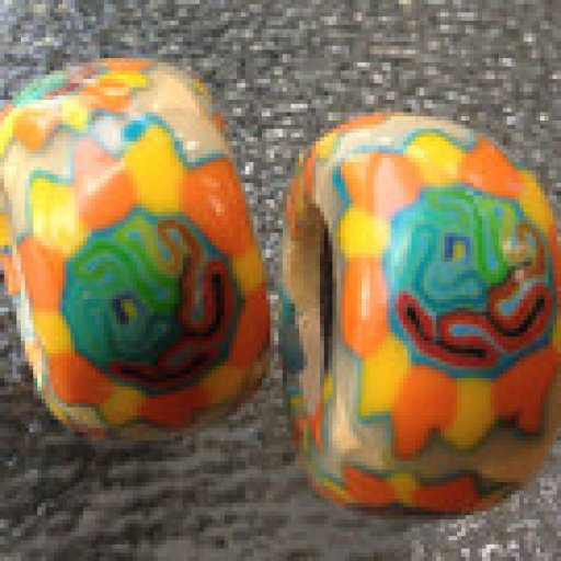 Sunflower Dread Beads