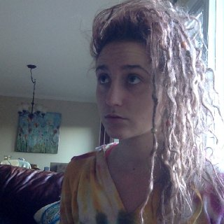 1 month natural dreads