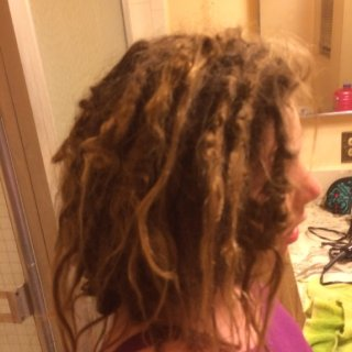 11mth natural dreads