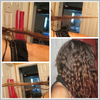 3 completely natural dreads that have formed, they are definitely the first dreadlings to knot. They are all on the underside of my head, the top of my head is taking it's sweet time.