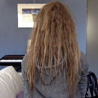 one month of dreads
