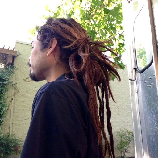 All natural dreadlocks, about two years in