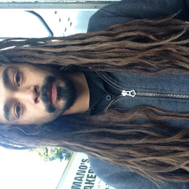 All natural dreadlocks, almost two years